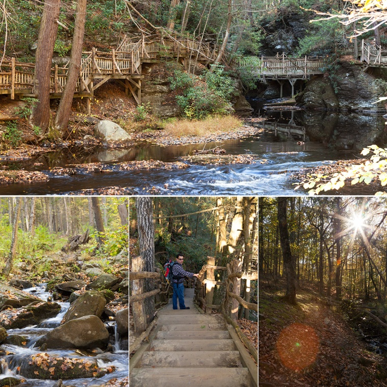Bushkill Falls _Square 4 Sections_IG